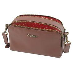 Mini Leather Double Zip Bag Bags Cathkidston Cath Kidston Accessories