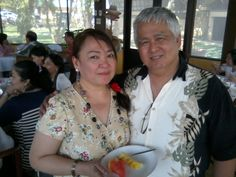A lovely day to introduce your fiancee to friends, with Alice & Nonoy Capio at Mira Mar