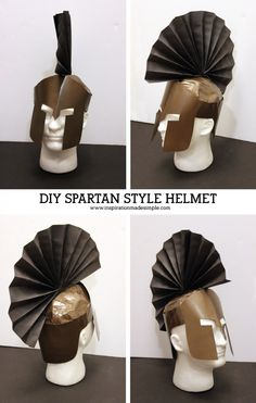 DIY Ares Greek Mythology Costume with Spartan Style Helmet Does your child need to create a Greek Mythology Costume for school? See how my son, with a little help from me, created his DIY Ares Costume! Greek God Costume, Greek Costumes, Diy Greek Goddess Costume, Greek Mythology Costumes, Greek Toga, Roman Toga, Olympic Crafts, Greek Helmet, Homemade Costumes