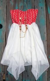 Lace Cowgirl Dress With Western Necklace $35.99
