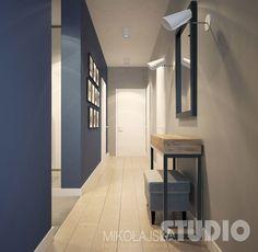 Znalezione obrazy dla zapytania konsola lustro korytarz