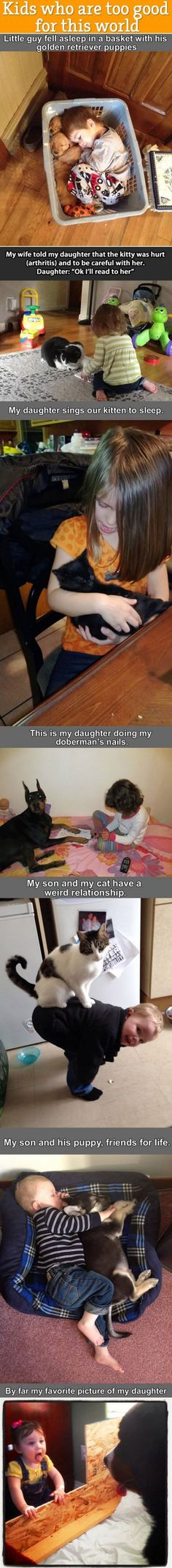 Warum jedes Kind ein Haustier braucht - Cuteness Overload Bild | Webfail - Fail Bilder und Fail Videos