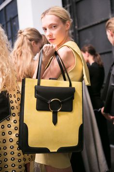 Edun at New York Fashion Week Spring 2016 - Backstage Runway Photos