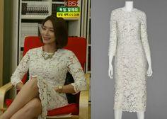 "Kim Hye-Ri in ""Trot Lovers"" Episode 3.  Avou Ivory Crochet dress #Kdrama #TrotLovers #트로트의연인 #KimHyeRi #김혜리"