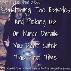 YES!!! That's why I always watch each episode twice ;)
