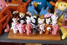 I'm a fan...very cute crochet finger puppets..awwwww!