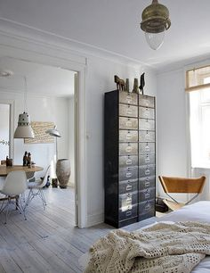 the home of danish designer brigitte rabens by the style files, via Flickr