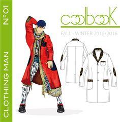 """l'anteprima di copertina del book di tendenza """"clothing man fall/winter 2015/2016"""" previsto in uscita il 28/07/2014 e pubblicato su http://www.coolbook.it/shop-2/"""