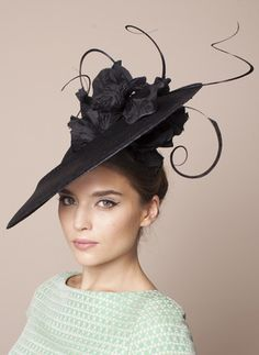 Gina Foster Millinery, S/S 2015 - Anzio. #passion4hats