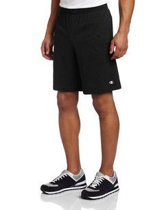 New Champion Men's Jersey Short With Pockets /Choose Sz/Clr #Champion #Shorts