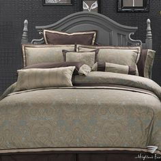 """King Size 300TC 100% Cotton Duvet Cover 102''X90''+2''-""""Hudson Valley"""" Collection by Highland Feather, http://www.amazon.com/dp/B005EO9INC/ref=cm_sw_r_pi_dp_QxD5rb0NZGBN6"""
