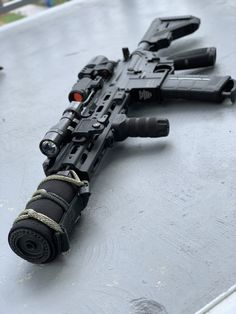 Talk about the latest airsoft guns, tactical gear or simply share with others on this network Weapons Guns, Airsoft Guns, Guns And Ammo, Gun Vault, Custom Guns, Military Guns, Fire Powers, Assault Rifle, Cool Guns