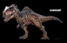 "SpencerTheSpino on Instagram: ""SPOILERS: Possibly Leaked Giganotosaurus Design for Dominion? #jurassicworld #jurassicpark #jurassicworlddominion #dinosaurs #spoilers…"" Jurassic World, Jurassic Park, Instagram"