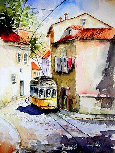 lisboa, saudades.. by Almeida Coval