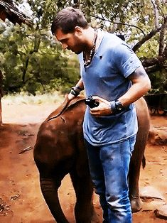 GIF: Tom (ITV - 2013) in South Africa - TH0017 these are a few of my favorite things