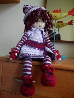 Ravelry: noriana's Mystery KAL Doll - Angelina