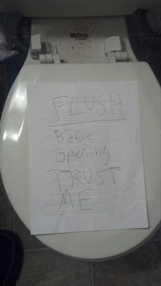 Roommates Leave The Best Notes! - 25 Pics