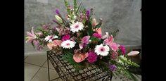 Fleuriste Deuil et obsèques - Composition florale dessus de cercueil
