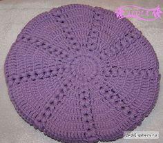 Boina em crochet