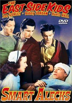 Gabriel Dell, Leo Gorcey, Huntz Hall, Bobby Jordan and Gale Storm in Smart Alecks (1942)