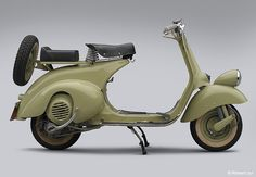 1952 Vespa -- would love it...