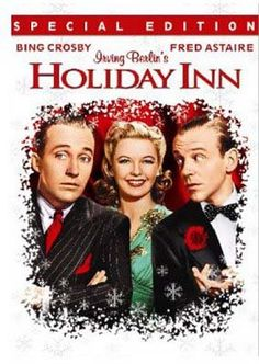 Holiday Inn, showing on 12/12 for the last of 2013's Classic Cinema Series. The film stars Bing Crosby and Fred Astaire