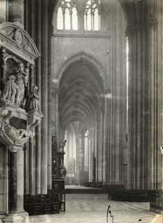 Cathedral, Amiens, France, 1903.
