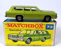 Matchbox Superfast Station Wagon - I had the regular wheels version of this car.