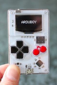 Make your own game and then play it on this tiny game console