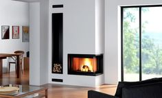 Built-in Fireplaces By Rocal