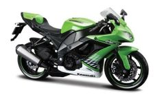 """Maisto 1/12 2010 Kawasaki Ninja ZX-10R by Maisto. $8.33. Approx. 6""""-7"""" long. 1:12 Scale Kawasaki Ninja Zx-10r Green Diecast Motorcycle Model. Detailed design. Beautifully crafted Diecast Motorcycle Model 1:12 scale die cast from Maisto. Great replica in scale. All details are well put together. Great collectible or gift piece. One of the best showcase model for any motorcycle enthusiast.. Save 54% Off!"""