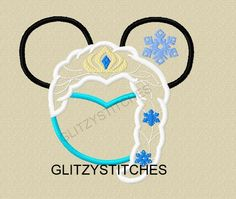 Miss Mouse Ice Queen Version 2
