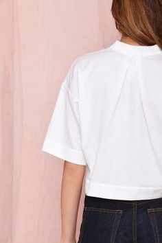 Nasty Gal Boxed In Top | Shop Back In Stock at Nasty Gal