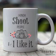 I kinda shoot people & I like it 15oz Mug by TheSnarkyShop on Etsy