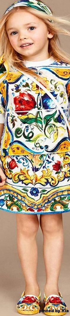 Dolce & Gabbana Kids l FW 2016-17 l Ria