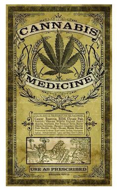 Cannabis Medicine - Use as Prescribed