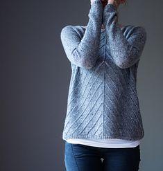 Crochet Sweater Pattern Basic 46 Ideas For 2019 Sweater Knitting Patterns, Easy Knitting, Knitting Socks, Knit Patterns, Diy Broderie, Pulls, Knit Crochet, Couture, Blogg