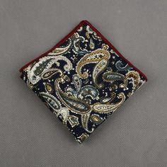 Cotton Designed Handkerchiefs for Men
