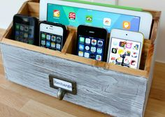 Too many electronics to charge?? You need a charging station. You can buy some really cool ones but why buy when you can DIY? I've found some charging stations you'll love. From super simple to a b...