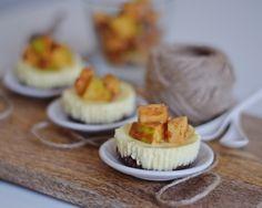 minicheesecakes with caramel apples by www.fresshion.com
