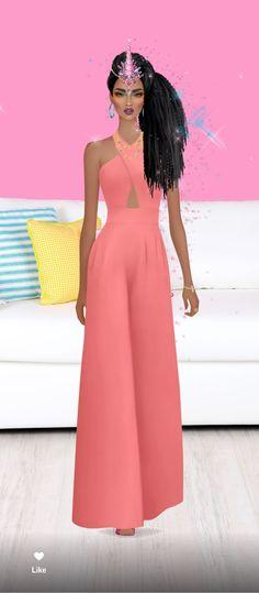 Jumpsuit Elegante, Fashion Dolls, Fashion Dresses, Evening Dresses, Summer Dresses, Covet Fashion Games, Cover Model, Fashion Sketches, Summer Looks