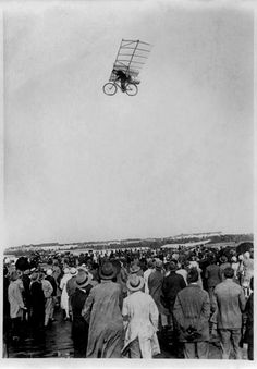 Have you ever wondered about the stories behind old photographs? Snapshot Stories is a series of short, fictional narratives prompted by that curiosity. This installment features this photograph of unknown date and origin. - http://moodsandappetites.com/snapshot-stories-the-flying-bicycle/