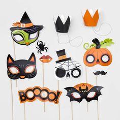 Halloween Photo Props, Halloween Looks, Baby Halloween, Halloween Decorations, Festival Games, Creepy Faces, Trunk Or Treat, Fright Night, Halloween Festival
