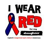 I wear Red for my daughter