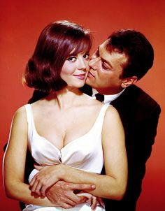 """Natalie Wood and Tony Curtis in """"Sex and the Single Girl"""", (1964)."""