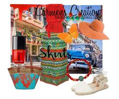 """Tropical Island Skirt"" by carmen-ireland ❤ liked on Polyvore featuring Dolce Vita, Sakroots, Ippolita, Devoted, Chanel, Vivienne Westwood Anglomania, Pulpo and Betmar"