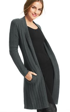 Sweater Coat {CAbi Fall 2013}