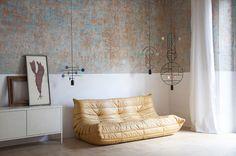 Álvaro Goula et Pablo Figuera designers espagnols studio Goula/Figuera nous présentent la collection de luminaires Lines & Dots mêlant mobile et suspension