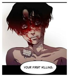"""""""DOES ANYONE READ KILLING STALKING?!"""" by kaninekiller ❤ liked on Polyvore featuring art"""
