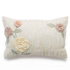 LC Lauren Conrad Lollipop Layered Rope Throw Pillow, White Oth
